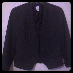 Jacket grey, mid waist